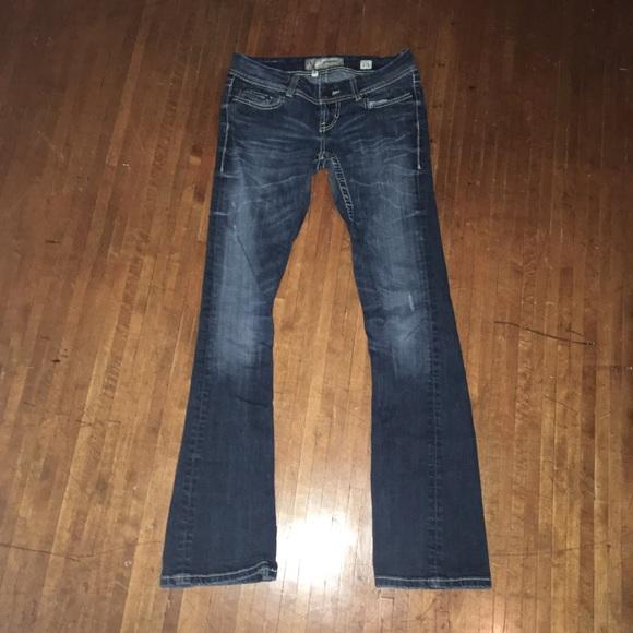 BKE Sabrina 27L bootcut jeans